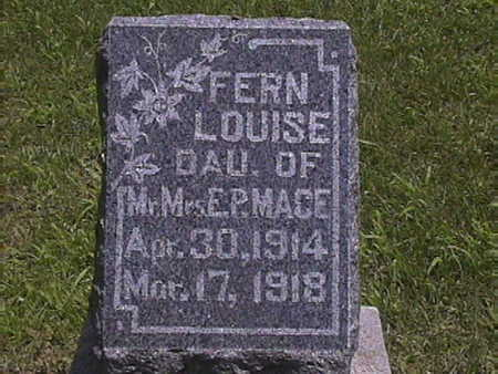 MACE, FERN LOUISE - Harrison County, Iowa | FERN LOUISE MACE