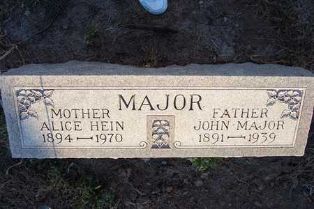 MAJOR, ALICE - Harrison County, Iowa | ALICE MAJOR