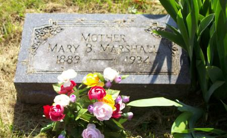 MARSHALL, MARY - Harrison County, Iowa | MARY MARSHALL
