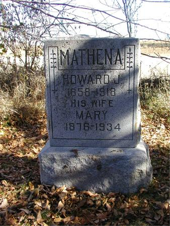 HIRST MATHENA, MARY - Harrison County, Iowa | MARY HIRST MATHENA