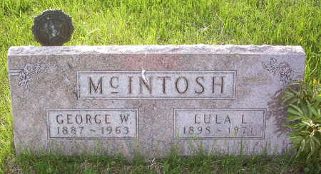 MCINTOSH, GEORGE WILLIAM - Harrison County, Iowa | GEORGE WILLIAM MCINTOSH