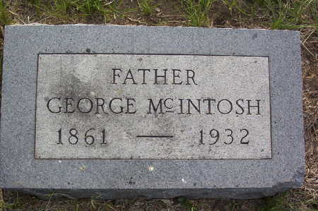 MCINTOSH, GEORGE BOONE