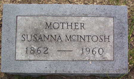 MCINTOSH, SUSANNA - Harrison County, Iowa | SUSANNA MCINTOSH
