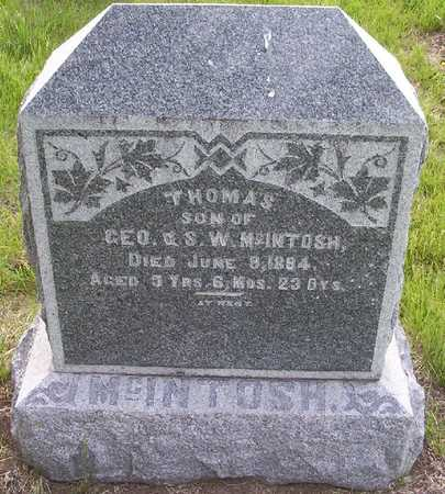 MCINTOSH, THOMAS - Harrison County, Iowa | THOMAS MCINTOSH