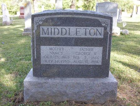MIDDLETON, GEORGE W. - Harrison County, Iowa | GEORGE W. MIDDLETON