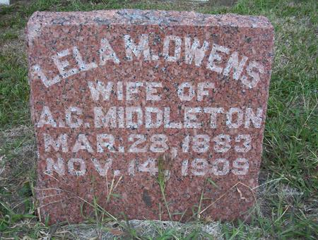MIDDLETON, LELA MAY - Harrison County, Iowa | LELA MAY MIDDLETON