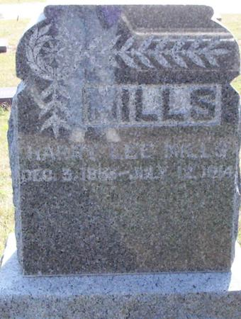 MILLS, HARRY LEE - Harrison County, Iowa | HARRY LEE MILLS