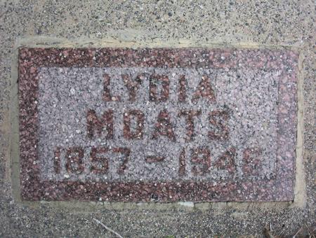 COX MOATS, LYDIA - Harrison County, Iowa | LYDIA COX MOATS