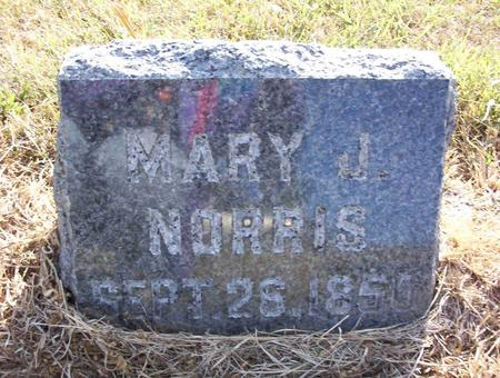 NORRIS, MARY J - Harrison County, Iowa | MARY J NORRIS