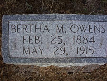SHAW OWENS, BERTHA ETHYL - Harrison County, Iowa | BERTHA ETHYL SHAW OWENS