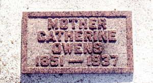 COX OWENS, CATHERINE - Harrison County, Iowa | CATHERINE COX OWENS