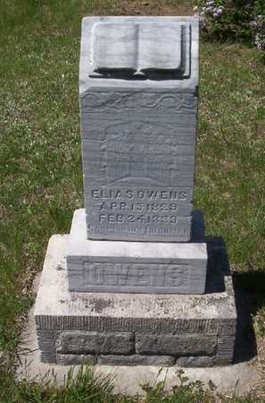 OWENS, ELIAS (1829) - Harrison County, Iowa | ELIAS (1829) OWENS