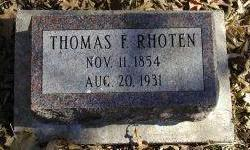 RHOTEN, THOMAS - Harrison County, Iowa | THOMAS RHOTEN