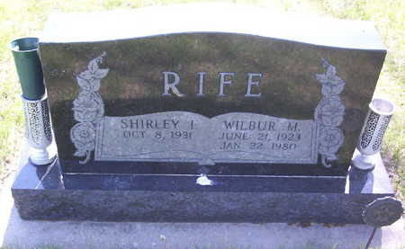 RIFE, WILBUR M. - Harrison County, Iowa | WILBUR M. RIFE
