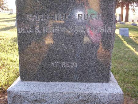 GEORGE RUGG, CAROLINE - Harrison County, Iowa | CAROLINE GEORGE RUGG