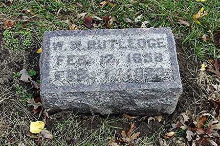 RUTLEDGE, WILLIAM W. - Harrison County, Iowa | WILLIAM W. RUTLEDGE