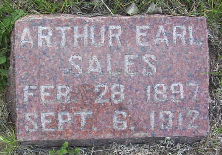 SALES, ARTHUR EARL - Harrison County, Iowa | ARTHUR EARL SALES