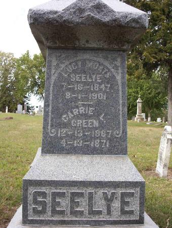 MOATS SEELYE, LUCY - Harrison County, Iowa | LUCY MOATS SEELYE