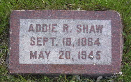 FAITH SHAW, ADELINE RACHEL