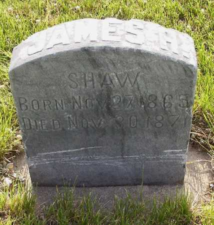 SHAW, JAMES H. - Harrison County, Iowa | JAMES H. SHAW