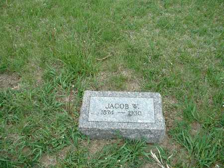 SNYDER, JACOB W. - Harrison County, Iowa | JACOB W. SNYDER