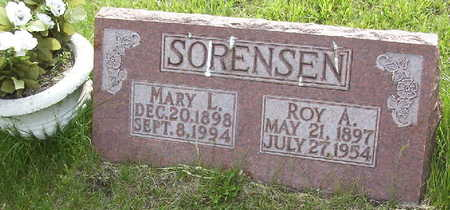 WHITEMAN SORENSEN, MARY LUCILLE - Harrison County, Iowa | MARY LUCILLE WHITEMAN SORENSEN
