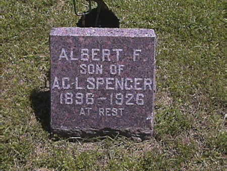 SPENCER, ALBERT . F - Harrison County, Iowa | ALBERT . F SPENCER