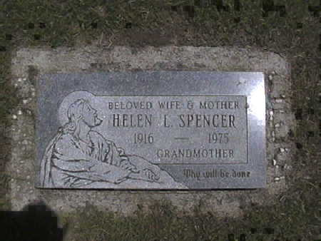 MCGEE SPENCER, HELEN .L - Harrison County, Iowa | HELEN .L MCGEE SPENCER