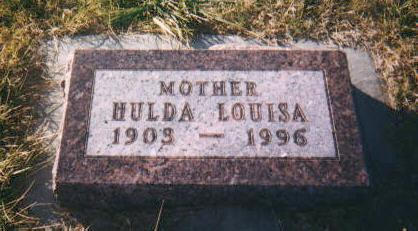 STAHLNECKER, HULDA LOUISA - Harrison County, Iowa | HULDA LOUISA STAHLNECKER