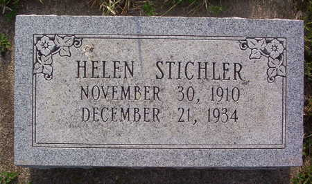STICHLER, HELEN - Harrison County, Iowa | HELEN STICHLER