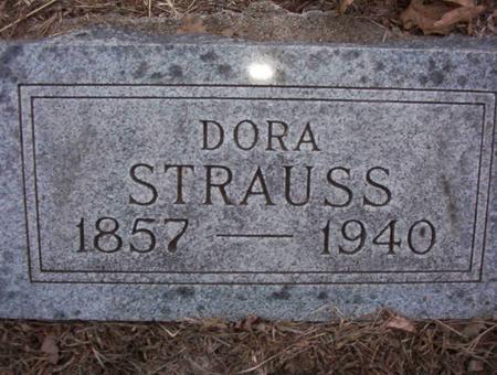 OWENS STRAUSS, CAROLIDA ISADORE (DORA) - Harrison County, Iowa | CAROLIDA ISADORE (DORA) OWENS STRAUSS