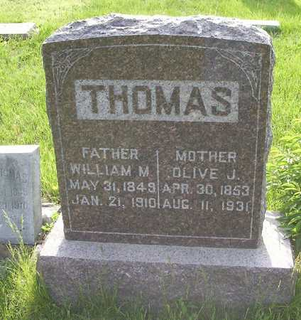 THOMAS, WILLIAM MILTON - Harrison County, Iowa | WILLIAM MILTON THOMAS