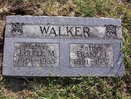 WALKER, JOHN FRANK - Harrison County, Iowa | JOHN FRANK WALKER