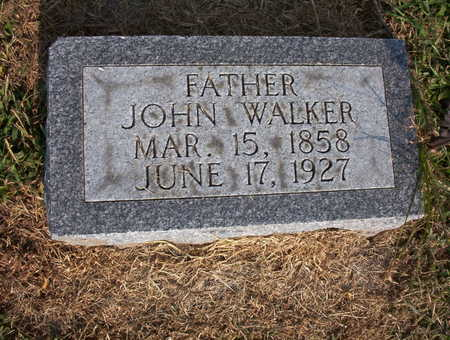 WALKER, JOHN FRANCIS - Harrison County, Iowa | JOHN FRANCIS WALKER