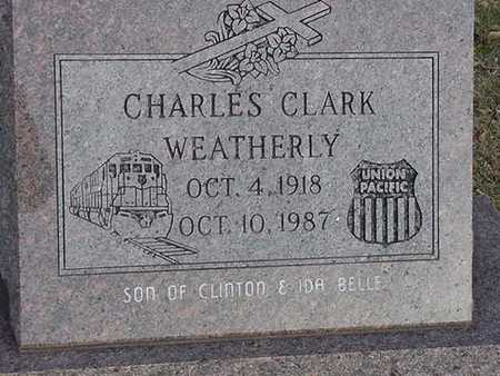 WEATHERLY, CHARLES CLARK - Harrison County, Iowa | CHARLES CLARK WEATHERLY