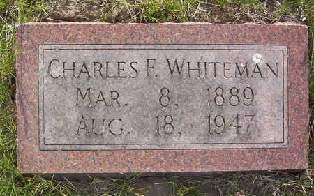 WHITEMAN, CHARLES FRANKLIN - Harrison County, Iowa   CHARLES FRANKLIN WHITEMAN
