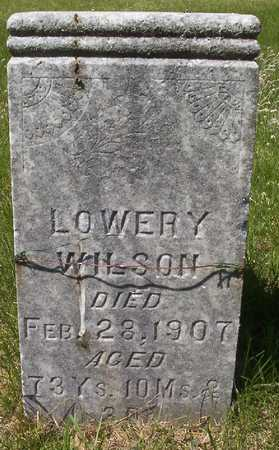 WILSON, LOWERY - Harrison County, Iowa | LOWERY WILSON