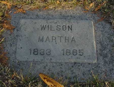 WILSON, MARTHA JANE - Harrison County, Iowa | MARTHA JANE WILSON