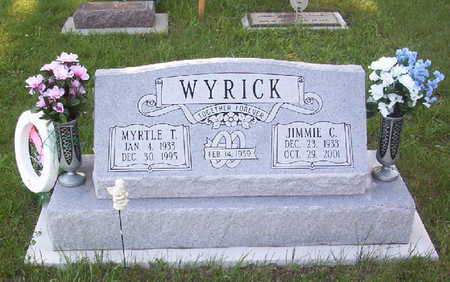 WYRICK, MYRTLE THERESA - Harrison County, Iowa | MYRTLE THERESA WYRICK