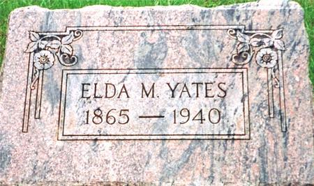 YATES, ELDA - Harrison County, Iowa | ELDA YATES