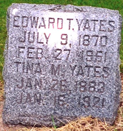 YATES, EDWARD - Harrison County, Iowa | EDWARD YATES
