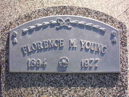 YOUNG, FLORENCE M - Harrison County, Iowa | FLORENCE M YOUNG