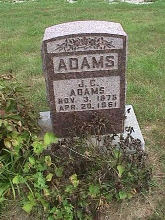 ADAMS, J. C. - Henry County, Iowa | J. C. ADAMS