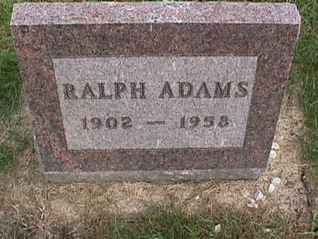 ADAMS, RALPH - Henry County, Iowa | RALPH ADAMS