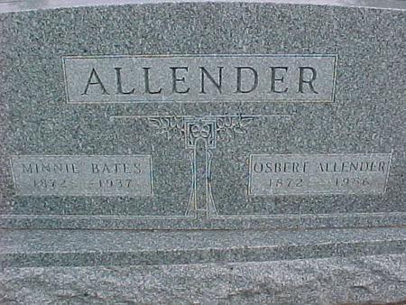 ALLENDER, OSBERE - Henry County, Iowa | OSBERE ALLENDER