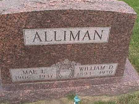 ALLIMAN, MAE - Henry County, Iowa | MAE ALLIMAN