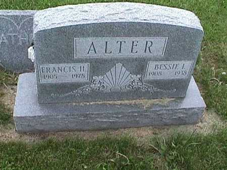 ALTER, BESSIE - Henry County, Iowa | BESSIE ALTER