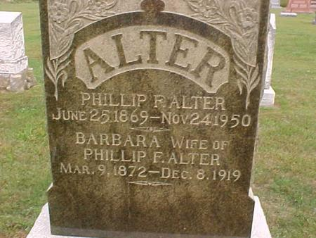 ALTER, PHILLIP - Henry County, Iowa | PHILLIP ALTER