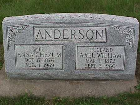 ANDERSON, AXEL WILLIAM - Henry County, Iowa | AXEL WILLIAM ANDERSON