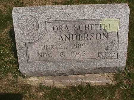 SCHEFFEL ANDERSON, ORA - Henry County, Iowa | ORA SCHEFFEL ANDERSON